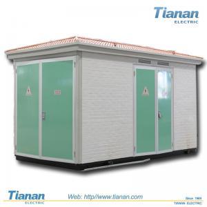 Quality Prefabricated Compact Transformer Substation 12kv With 30 - 1250kva Capacity wholesale
