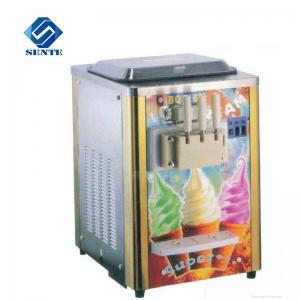 Quality fruit ice cream maker/soft serve ice cream machine/ice cream cone machine AKL218C wholesale