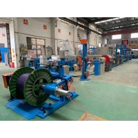 Quality One Shaft Wire Extruder Machine With Automatic Tension Adjusting System wholesale