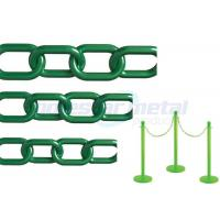Quality Recyclable Colorful Plastic Link Chain / Green Plastic Chain For Garden wholesale