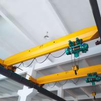 China Metallurgy Workshop Single Girder Eot Crane Reliable Operation With Remote Control on sale