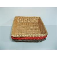 Quality Pure Hand-woven Environmental Pollution Rattan Bread Baskets For Bakery wholesale