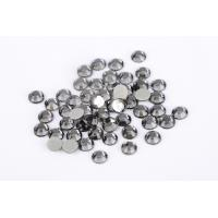 Quality Gray Flat Back Rhinestones Bulk , Extremely Shiny Low Lead Rhinestones wholesale