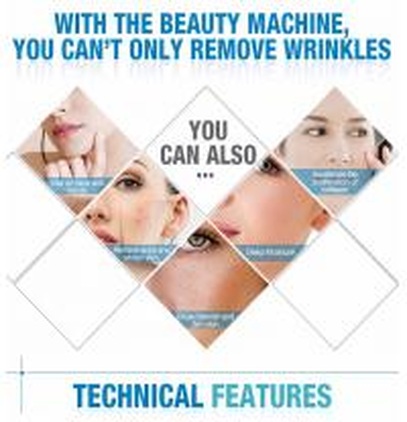 2016 Facial care SMAS wrinkle removal treatment medical hifu machine