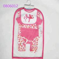 Quality 100% Cotton Baby Girl Clothing Sets Baby Gift Set 5pcs For 0 - 9 M Baby wholesale