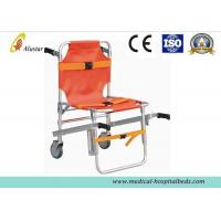 China Removable Surface Aluminum Alloy Stair Stretcher Emergency Chair Rescue Stretcher ALS-SA130 on sale
