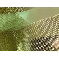 Cheap Brass Wire Mesh/Brass Screen Mesh For  Filtering Liquid and Gas with 6 to 160 mesh/inch for sale
