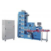 Quality IR UV Flexo Sticker Label Printing Machine With Die Cutting And Slitting wholesale