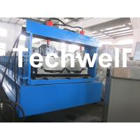 Joint Hidden Roof Panel Roll Forming Machine For Making Standing Seam Roof Panel