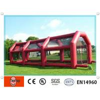Quality Custom Commercial Inflatable Batting Cages For Adults Sports On Grassland wholesale