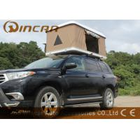 Quality Hard Shell Fiberglass Car Roof Top Tent / Jeep Roof Rack Tent With Fiber Glass Shell wholesale