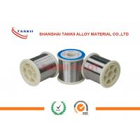 Quality 0.01-0.05mm 80 Nickel Chromium Wire Ni80Cr20 Resistance Wire For Electric Furnaces wholesale
