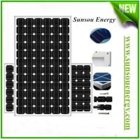 China 280w to 300w mono solar panel, high efficiency solar modules mono-crystalline for pv panel system on sale