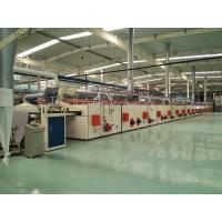 Cheap PVC Carpet Backing Machine / Tile Production Line CNC Cutting For Sizes Desired for sale