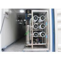 China Sea Water RO System RO Water Plant With 20 Foot Container For Drinking / Irrigate on sale