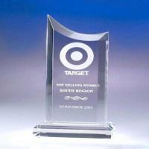 Quality Transparent Acrylic Award Trophy wholesale