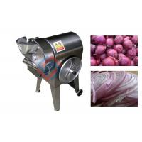 Quality Commercial Onion Cutting Machine Cube Ring 304 Stainless Steel 3HP  Power wholesale