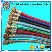 China High temperature resistant steam rubber fiber braided pipe hose for steam deliver with factory price on sale