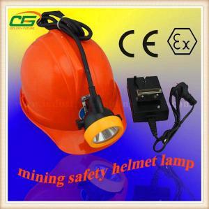 China Explosion Proof ATEX 4.2V LED Mining Cap Lamp 15000Lux Brightness For Marine on sale