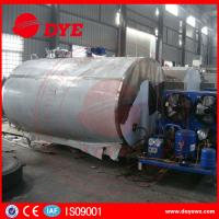 Quality Fermentation Tank Milk Cooling Tank With Refrigeration System wholesale
