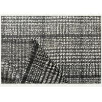 Quality One side Tartan , Black And White Hounds tooth / Swallow Grid Plaid Fabric wholesale
