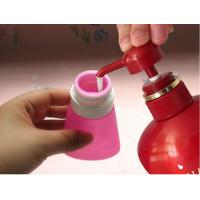 Buy cheap 2017 new bright light colour leak proof squeezable, BPA free, Food Grade Protable Silicone Travel Bottle product