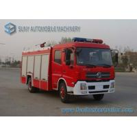Quality DONGFENG 2 Axles Foam Fire Fighting Trucks 140hp 4X2 6000L wholesale