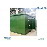 Quality Outdoor Compact Power Supply / Transmission Substation 30 - 800 Rated Capacity wholesale