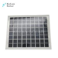 Quality Sun Power Crystalline Semi Flexible Solar Panel 10Wp Water Proof  For Boat / Car wholesale