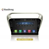 Quality PEUGEOT 301 GPS Navigation System HD Original Panel Capacitive Touch Screen wholesale