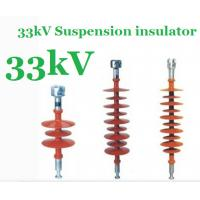 Buy cheap Silicone Rubber Suspension 33kv Insulator Light Weight For Distribution Lines product