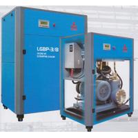Quality 105 CFM Double Rotary Screw Air Compressor , Oilless Two Stage Air Compressor wholesale