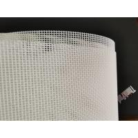 Quality Food Grade White Mesh Screen Material , Nylon Screen Fabric Mesh Count 10-180T wholesale