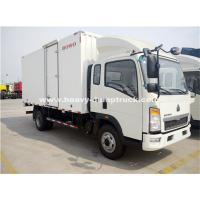 Buy cheap Sinotruk Light Duty Ice Box Truck Right Hand Driving Truck With KV 300 Refrigerator product