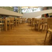 Quality Birch Stained Color Handcraped flooring wholesale