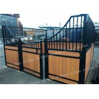 Quality Heavy - Duty Sliding Barn And Stable Horse Stall Panels Designs For Long Life wholesale