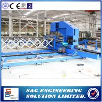 Quality Sandwich Panel Roll Forming Machine Continuous Line For Industrial & Residential Sectional Doors wholesale