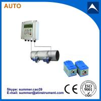 Quality Wall Mounted Clamp On Type Ultrasonic Flowmeter/Fixed Ultrasonic Flow Meter with reasonabl wholesale