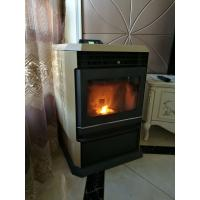 Quality Removable Ash Box Indoor Pellet Stove Freestanding With Self Cleaning System wholesale