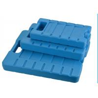 Quality Reusable 3 Refreezable Ice Packs For Lunch Box Solid Blue wholesale