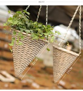 Quality Decorative hanging basket Willow basket rattan basket wholesale