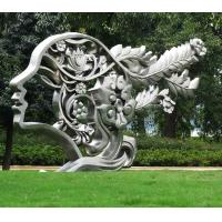 Quality Contemporary Garden Large Outdoor Sculpture Stainless Steel For Decoration wholesale