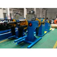 Quality High Speed Roll Forming Machine Parts , Double Head Decoiler With Seven - Roll Leveler wholesale