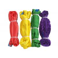 Quality Anti Abrasion Polyester Lifting Sling 6T/5T/4T/3T/2T/1T With Easy Rigging And Storage wholesale