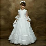 Quality White Organza 2012 Flower Girl Dress wholesale