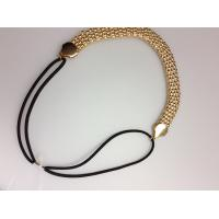 Quality Fashion Jewelry snack alloy Hairband with elastic headband accessories in YiWu wholesale