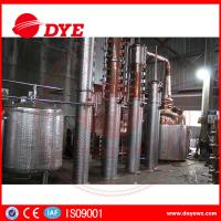 Quality Semi-Automatic Small CopperAlcohol Distiller System 3mm Thickness CE wholesale