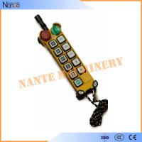 Quality Pendant Industrial Remote Controls Wireless , F24-10 S/D Transmitter wholesale