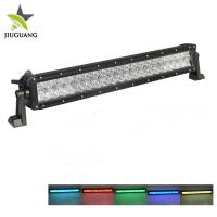 China Super Bright Off Road Led Light Bar , RGB Led Light Bar 2 Sides Mounting Bracket on sale