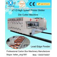 Quality Single Slotting Carton Folding Machine Pneumatic-Flapping For Cardboard With High Speed wholesale